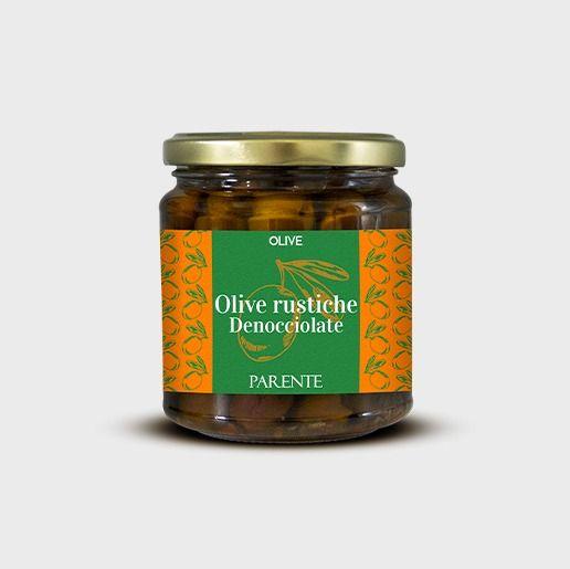 Olive rustiche denocciolate
