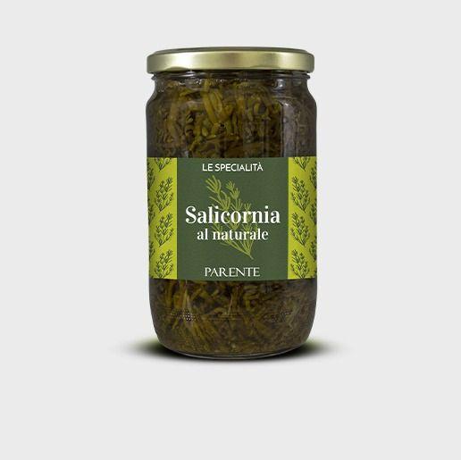 Salicornia al naturale