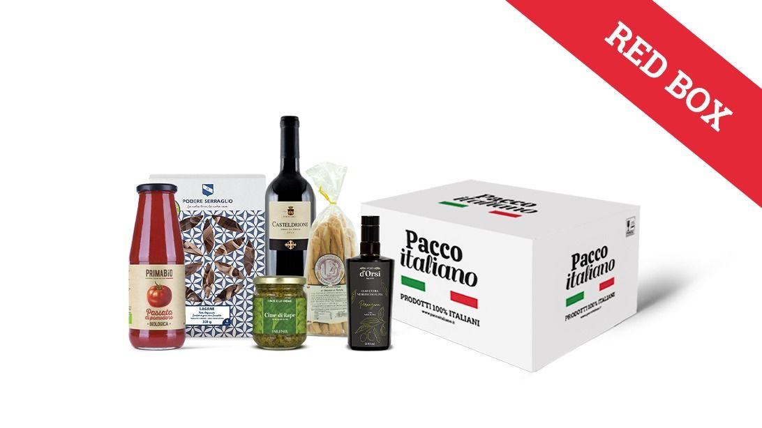 Pacco italiano red box