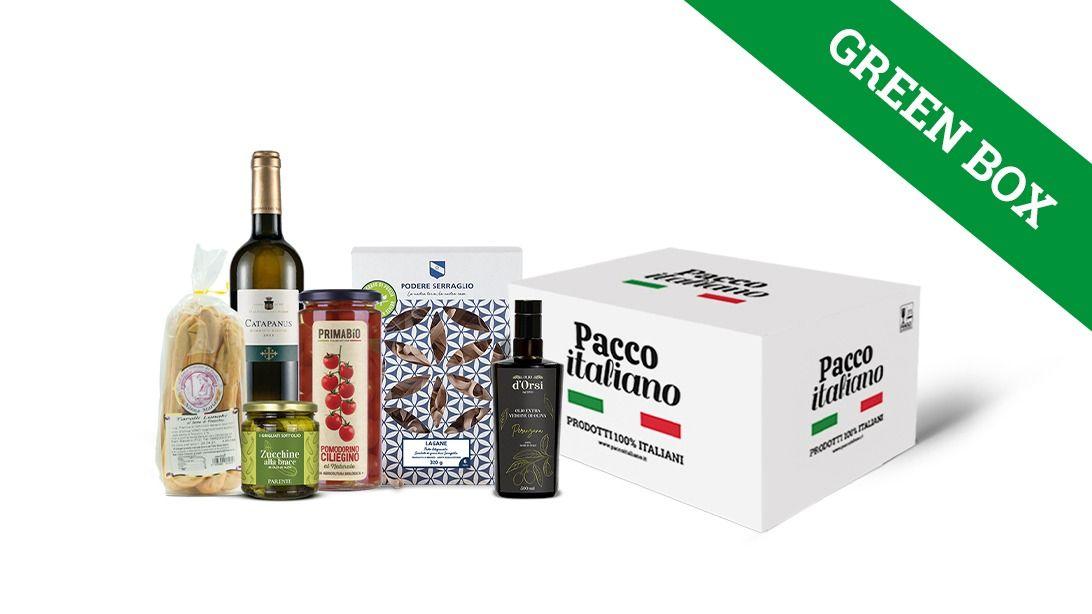 Pacco italiano green box