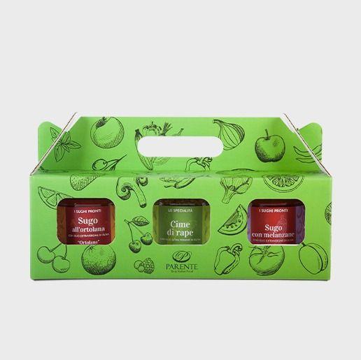 Box piccola mix sughi